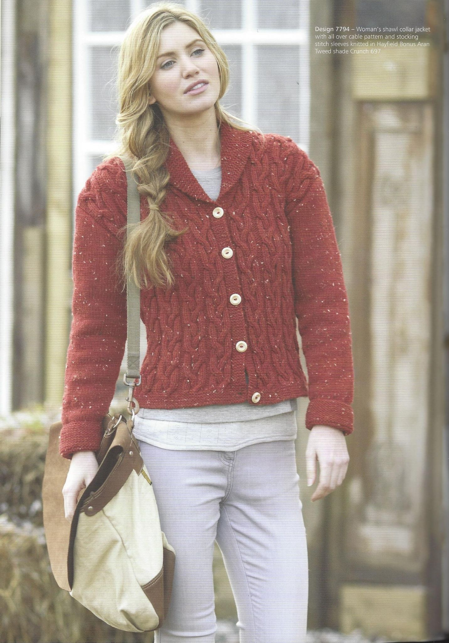 Hayfield Book 503 - 14 Favourite Aran Knits for Women in Hayfield ...